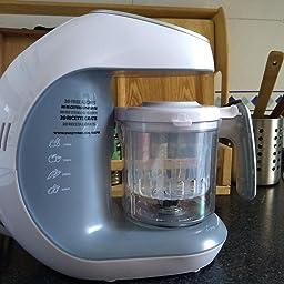 Robot de cocina Multifuncion - Babycook Multifunción 7 en 1 para Bebés - Al vapor, Procesador de Alimentos, Limpieza Automática, Esterilizador de Biberones, Recalentar, Descongela - Robot cocina bebe: Amazon.es: Bebé