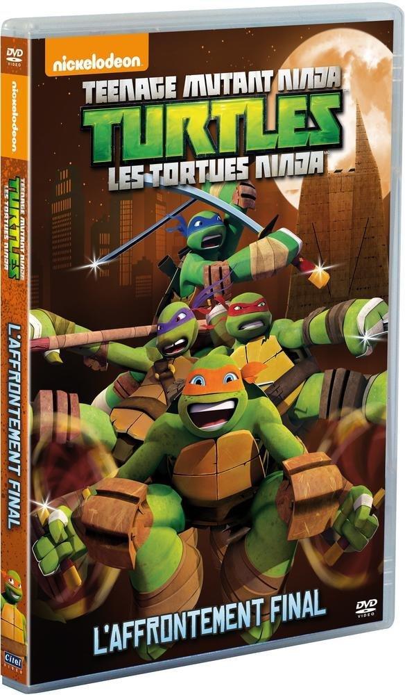 Amazon.com: Les Tortues Ninja - Vol. 4 : Laffrontement ...