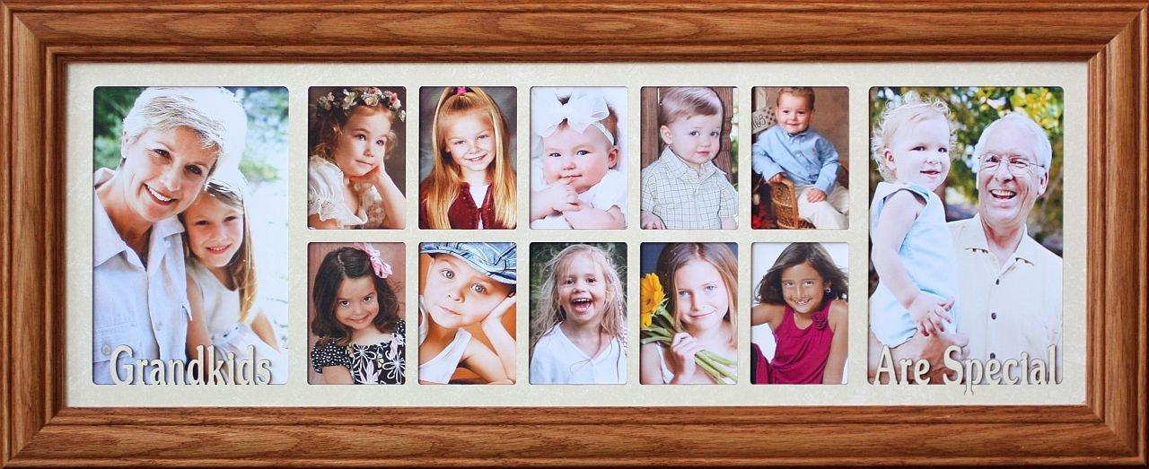 Amazon.com - 7x20 GRANDKIDS ARE SPECIAL ~ Multi-Portrait Collage ...