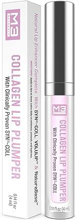 M3 Naturals Collagen Lip Plumper Clinically Proven Natural Lip Enhancer for