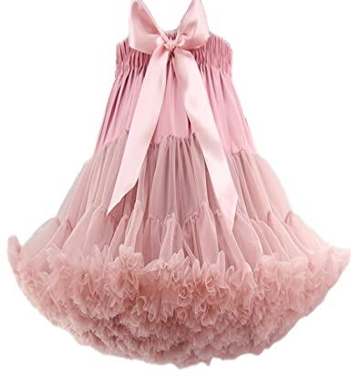 FOLOBE Adult Luxurious Soft Petticoat Women s Tutu Costume Ballet Dance Multi-Layer Puffy Skirt