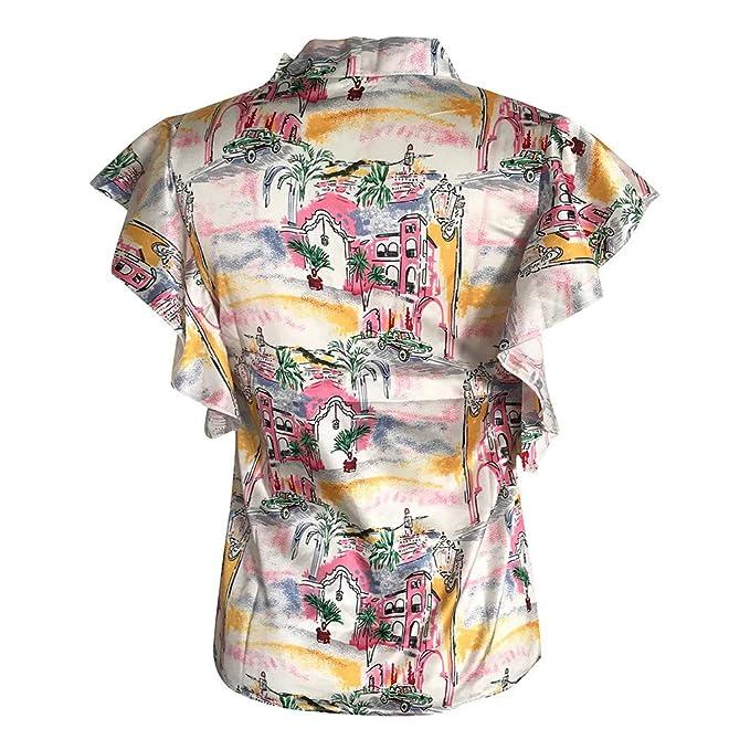 Wave166 Camiseta Tops Estampada para Mascotas de Mujer ...