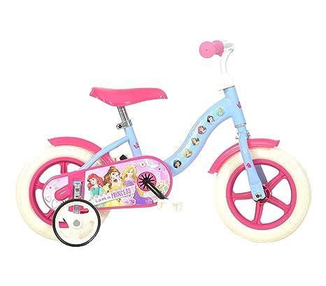 Mediawave Store Bicicletta Bambina 108 L Pss Misura 10 Principesse Disney Bici Età 2 3 Anni