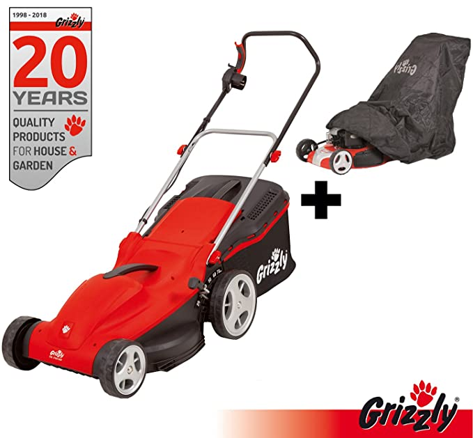 Grizzly eléctrico Cortacésped EM 1744 HW Power Motor 1700 W ...