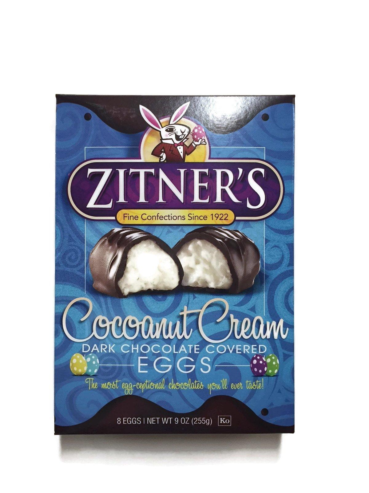 Zitners Coconut Cream Chocolate Covered Eggs