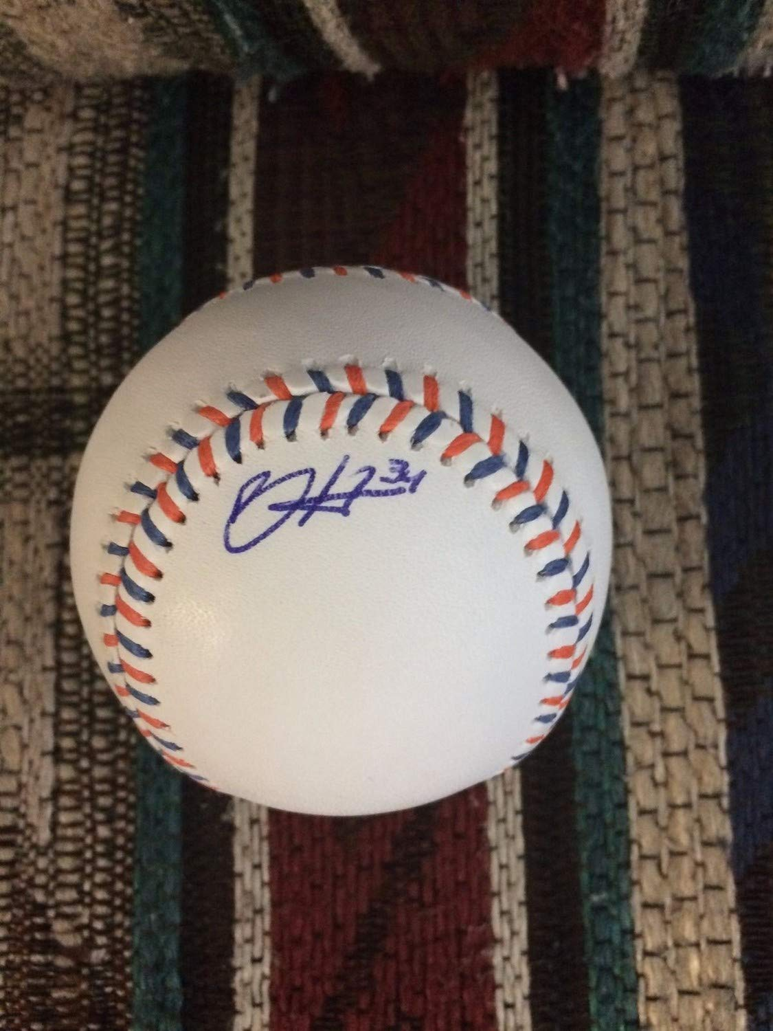 Bryce Harper Autographed Signed 2013 All Star OMLB/JSA Loa And Sticker
