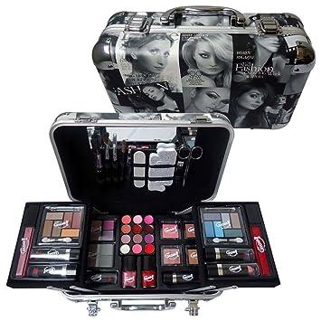 Make up   accessoires Mallette de Maquillage Fashion 60 Pièces, Coffret  Cadeau- e9fb950fccdb