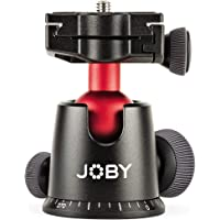 Joby Ballhead 5K Ball Head for DSLR and Mirrorless Cameras, Black, (JB01514-BWW)