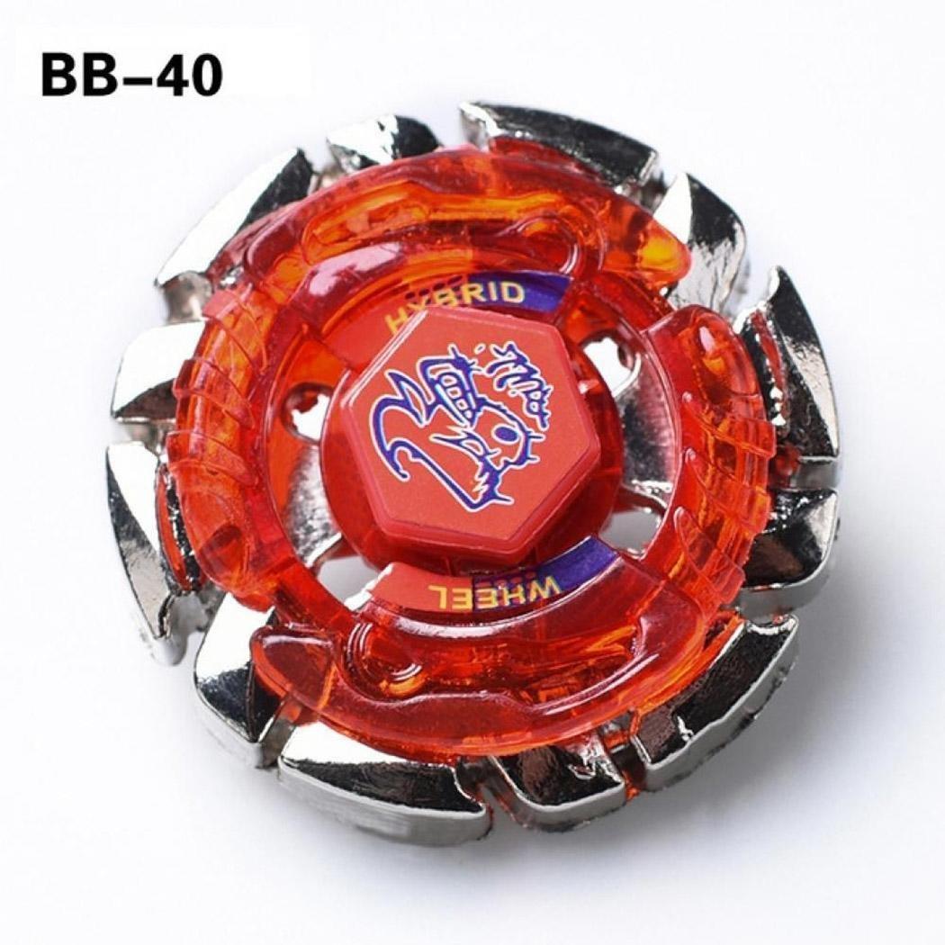 Mini Children Toys Metal Fusion Battling Gyro Game Toys Spinning Tops Random Color 5 Pcs by Bulges (Image #2)