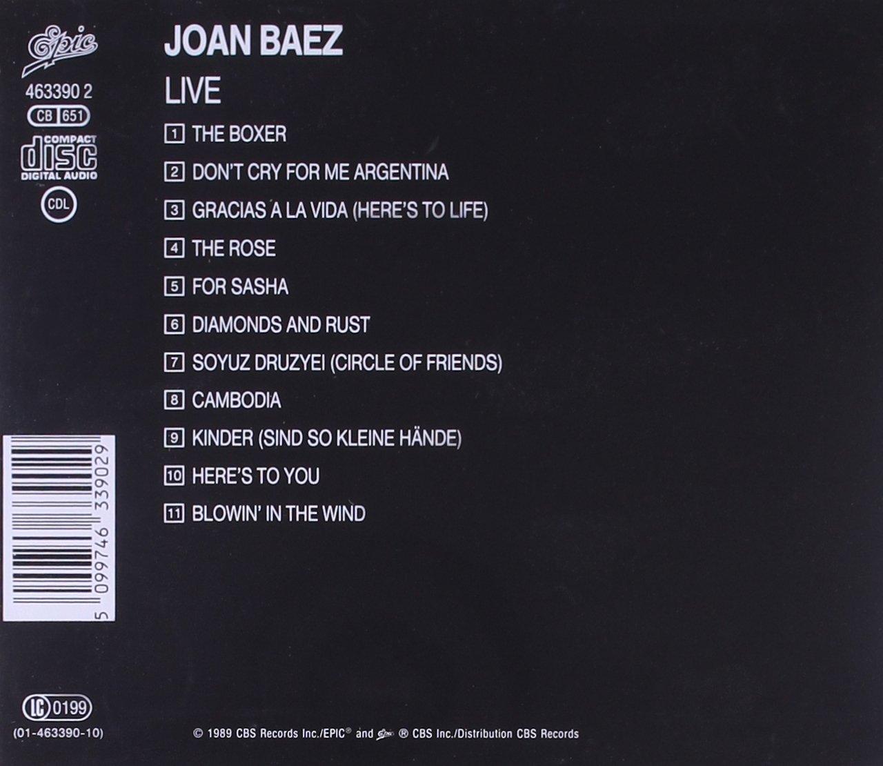 Joan Baez-Live