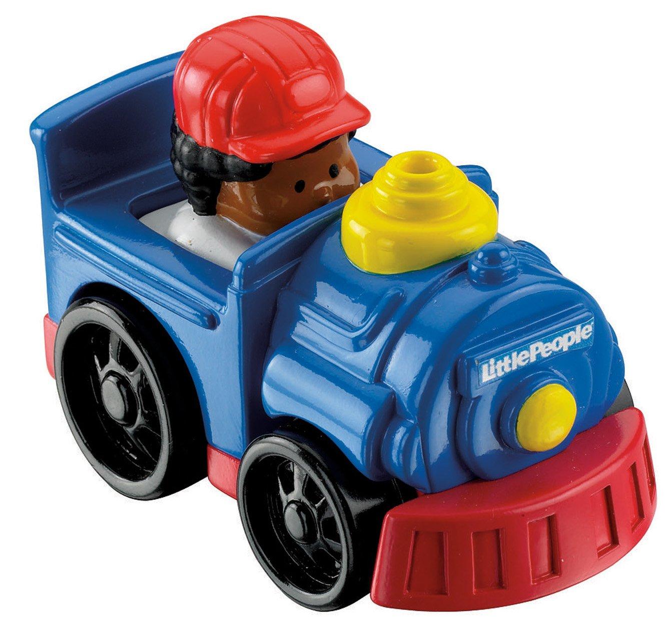 Fisher-Price Little People Wheelies Steam Engine