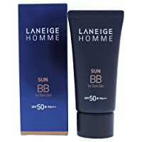 Laneige Homme Sun Men's SPF 50 BB for Dark Skin, 1.7 Ounce