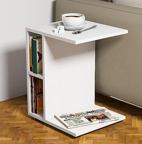Tavolini Da Salotto Con Ruote.Ceylin Tavolino Basso Da Salotto Con Ruote Materiale In Legno