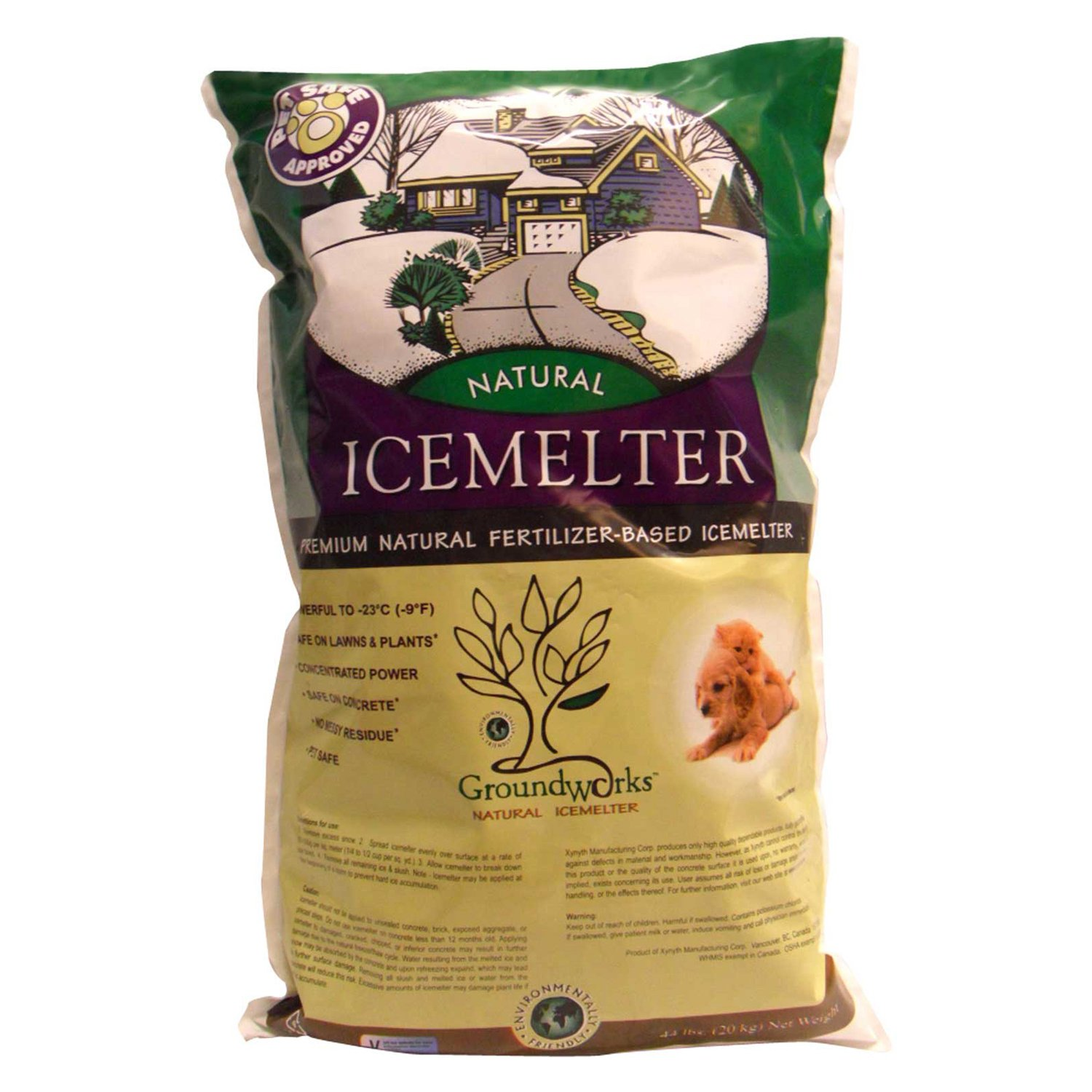 Xynyth Manufacturing Corp 200-21043 44 Lb GroundworksTM Natural Ice Melter
