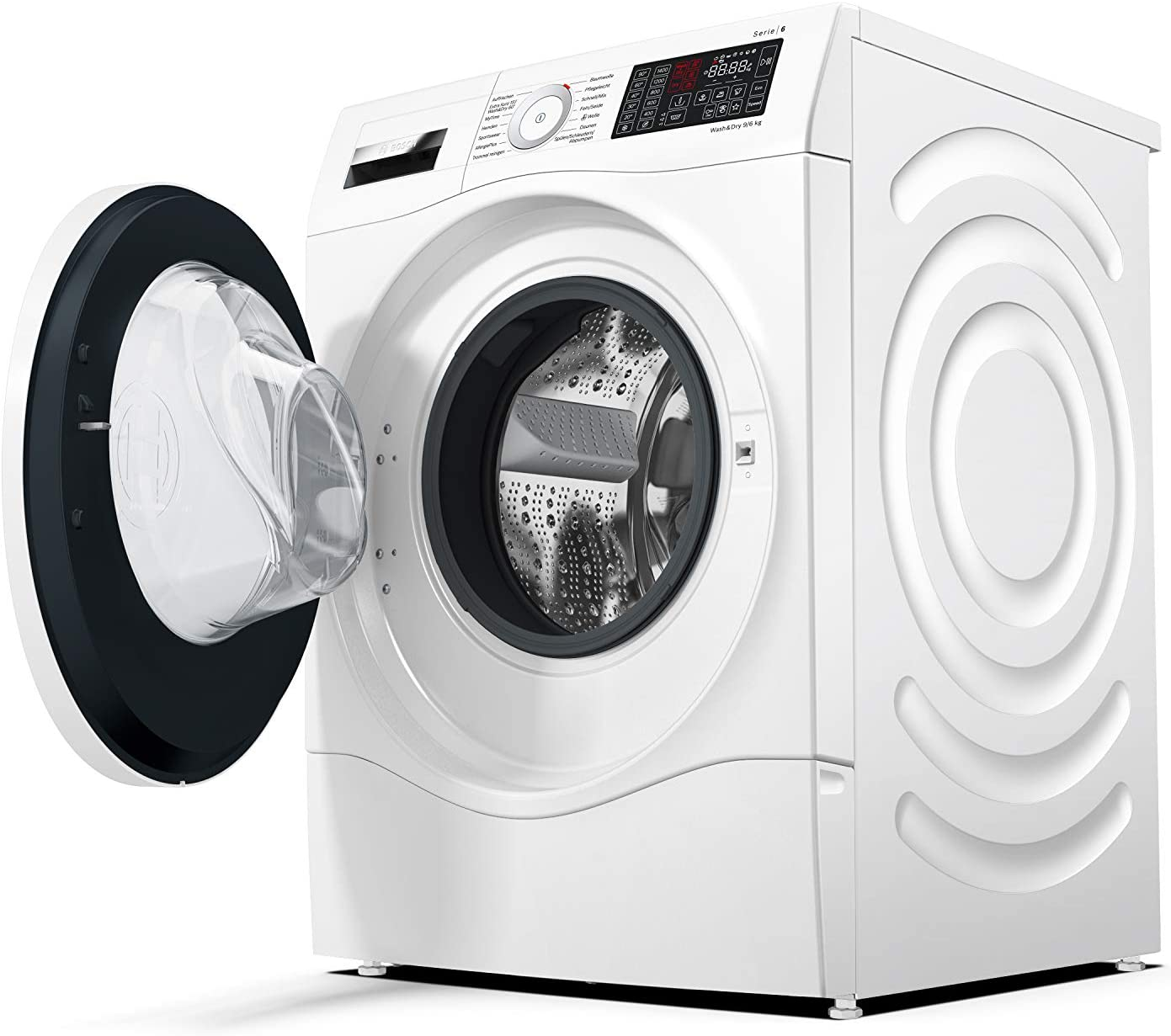 Bosch Serie 6 WDU28540 lavadora Carga frontal Independiente Blanco ...