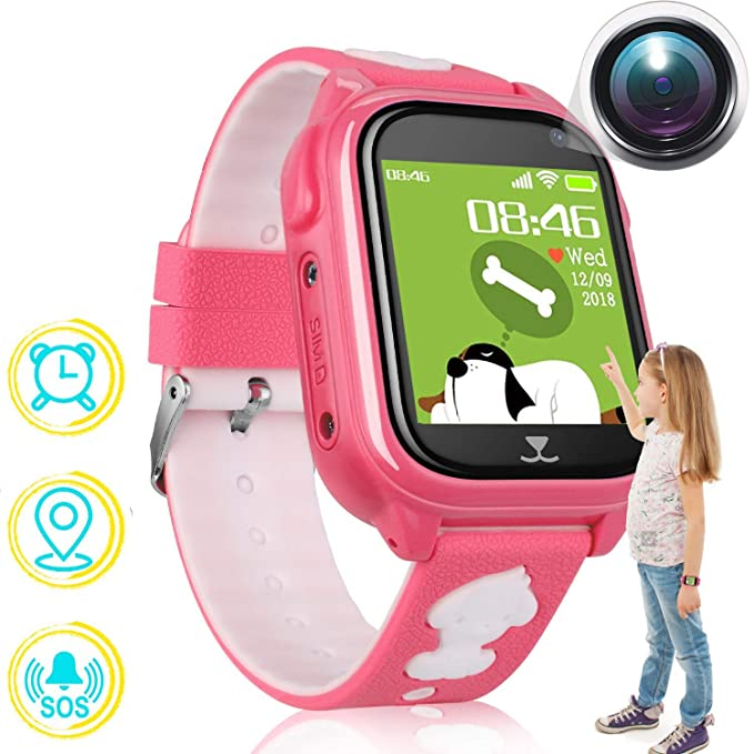 Amazon.com: GPS Tracker Watch for Children,Hangang Kids ...