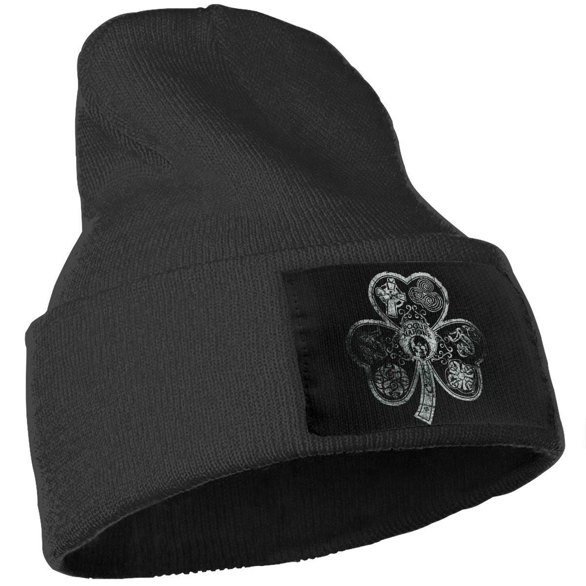 QZqDQ Pogue Mahone Unisex Fashion Knitted Hat Luxury Hip-Hop Cap