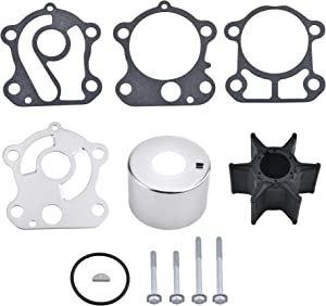 BDFHYK Water Pump Impeller Repair Kit for F75 F80 F90 F100 Yamaha Outboard 67F-W0078-00-00