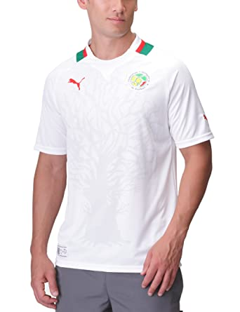 Puma - Camiseta de fútbol sala para hombre, tamaño XXL, color blanco - power