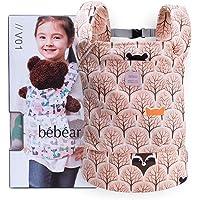 Bebamour Baby Doll Carriers für Mädchen Babypuppenzubehör Kinderspielzeug Puppentragetasche 3 in 1 Baby Doll Carrier Sling Baby Doll Carrier Doodles
