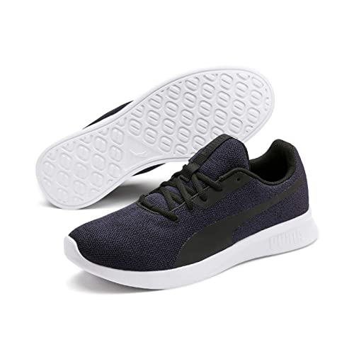 PUMA Modern Runner Low Boot Sneaker Sportschuhe Grau Violett Schwarz Schuhe, Größe:43