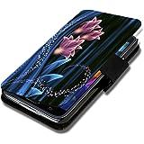 Book Style Flip Handy Tasche Case Schutz Hülle Schale Motiv Etui für Sony Xperia Z - Flip 1X10 Design2