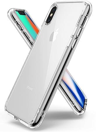 13b93620f3d Ringke Funda Apple iPhone X [Fusion] Transparente al Dorso del PC y Frente  al