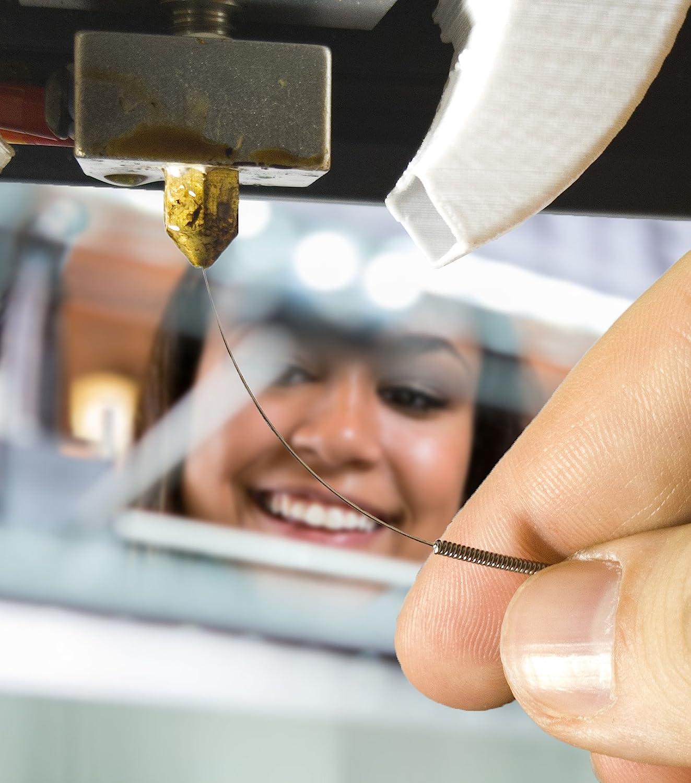 / /Kit per la pulizia degli ugelli della stampante 3D 0.4/mm aghi e pinzette Toolkit/ /Kit per pulizia degli ugelli alternativa per punte da 0.4/mm per stampante 3D/ / /acciaio inox/