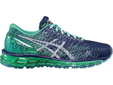 ASICS Women's Gel-Quantum 360 Running Shoe, Midnight/Silver/Beach Glass,