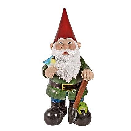 Etonnant Amazon.com : Garden Gnome Statue   Gottfried The Giantu0027s Bigger Brother  Gnome   Outdoor Garden Gnomes   Lawn Gnome : Garden U0026 Outdoor