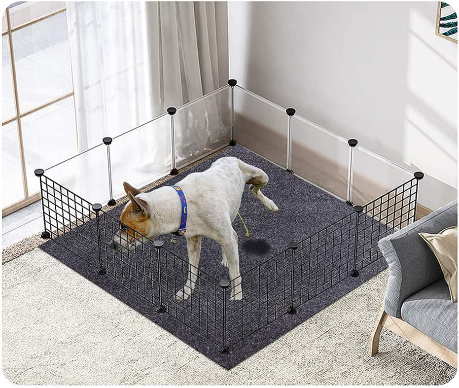Cibicon Dog and Puppies Bed Mats,Pee Mats for Pets,Dog Crates Mats Soft and Comfortable,Absorbent,Waterproof,Reusable,Washable,Protect Floor Clean