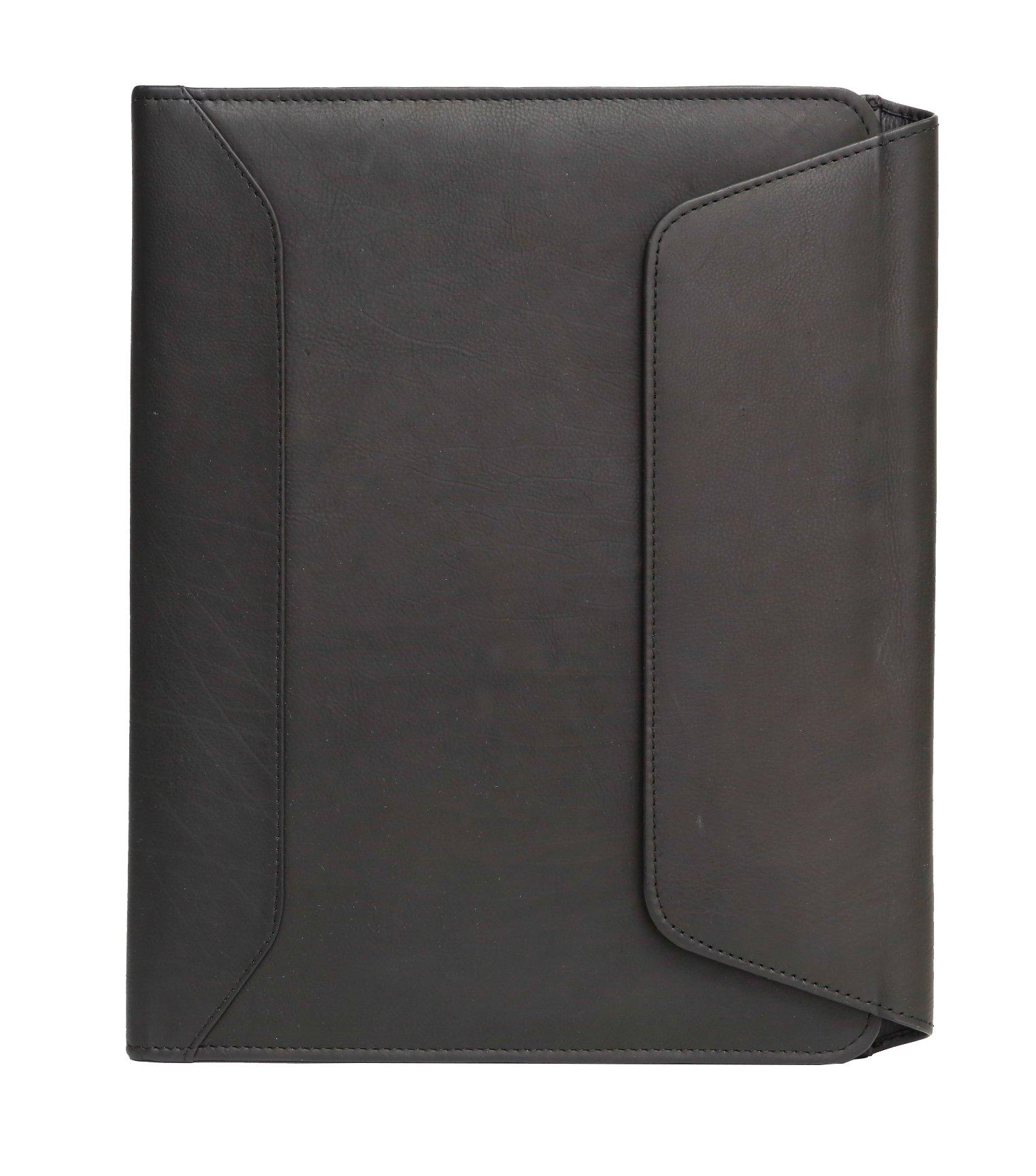 Ashlin SPICOLA Tri-Fold Writing Case, Black