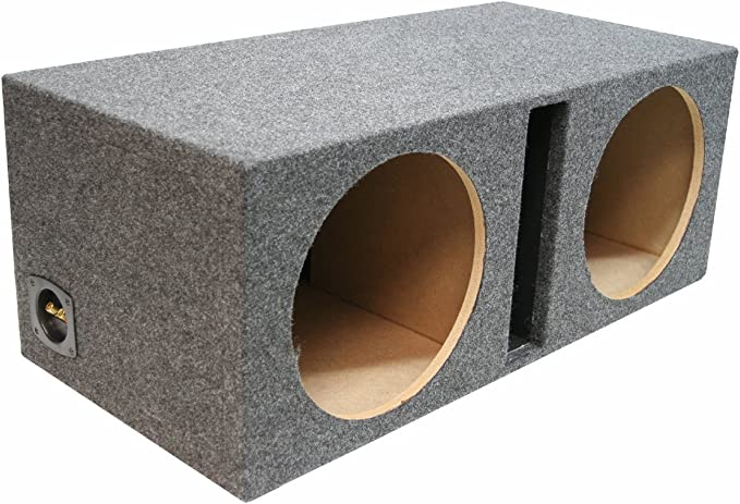 """NEW DUAL 10/"""" MDF Subwoofer Cabinet Box.Sealed Bass Speaker Enclosure.double.10in"""