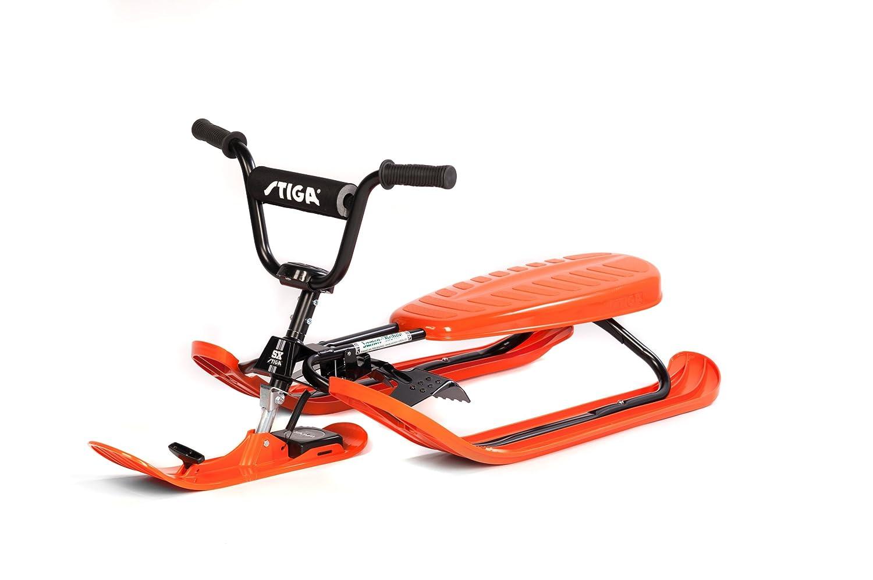 Stiga Sports Rennrodel SX Pro ORANGE, schwarz-orange, 120x50x37