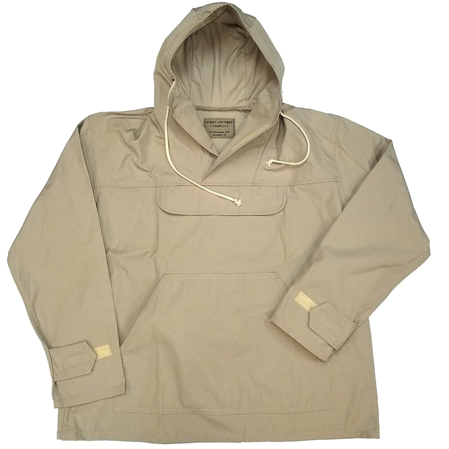 John Ownbey Company Men's Military Style Lightweight Anorak Pullover Parka