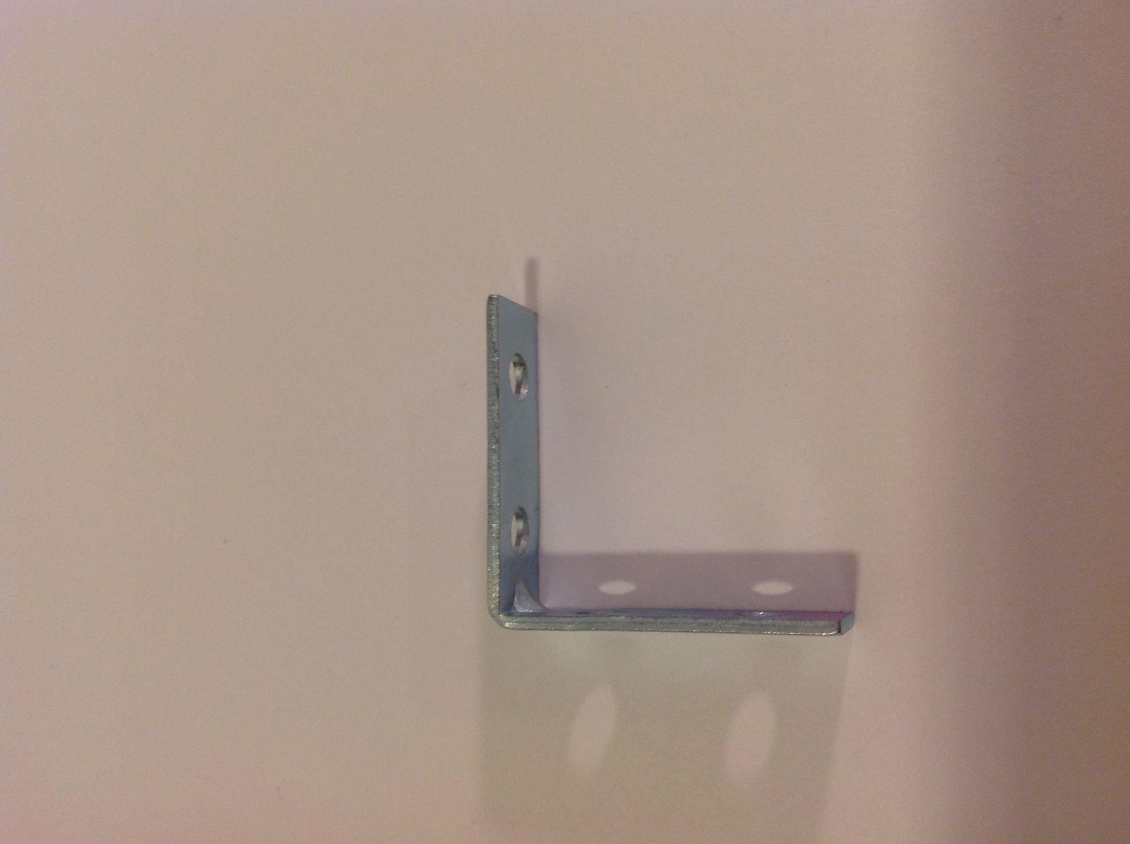 ALF_CAD 1.5 x 1.5 L Bracket Angle Iron Corner Brace Joint Metal Install Shelf Cabinet