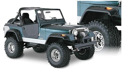 Bushwacker 10910-07 Jeep Cut-Out Fender Flare - Set of 4