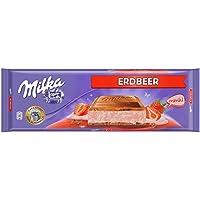 Milka Tableta De Chocolate Leche Con Fresa