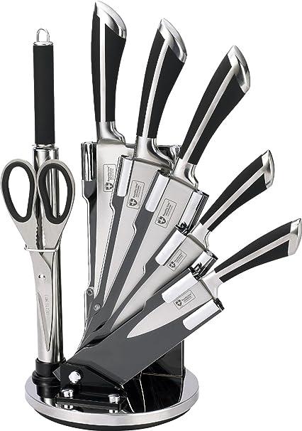 Compra Royalty Line KSS700 - Juego de 8 cuchillos de acero ...