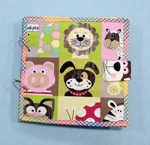 HECHO EN ESPAÑA. QUIET BOOK. Libro sensorial de tela y fieltro MARCA babybookspain. Mejora la motricidad fina, para aprender jugando.: Amazon.es: Handmade