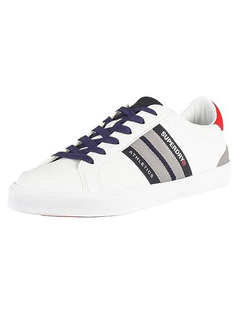 Superdry Herren Vintage Court Trainer Sneaker