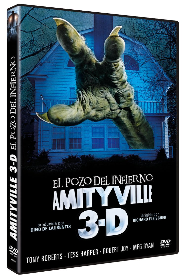 Amazon Com El Pozo Del Infierno Amityville 3d Dvd Amityville Iii The Demon Non Usa Format Pal Import Spain Movies Tv