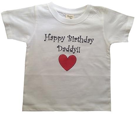 happy birthday daddy bigboymusic toddler designs white toddler t shirt