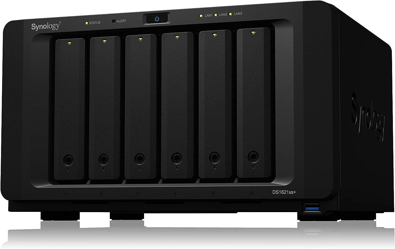 Synology 6 Bay NAS DiskStation DS1621xs+ Diskless