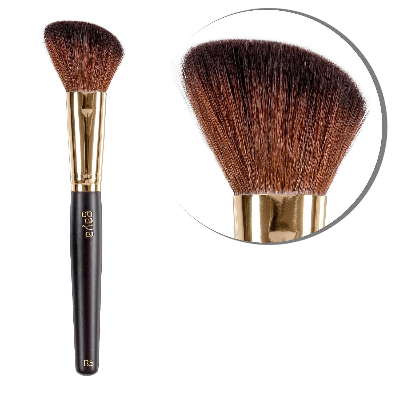 Gaya Cosmetics Pinceau Maquillage Professionnel Blush B5 en fibre synthétique vegan pour faciliter makeup contouring Poudre & Fard
