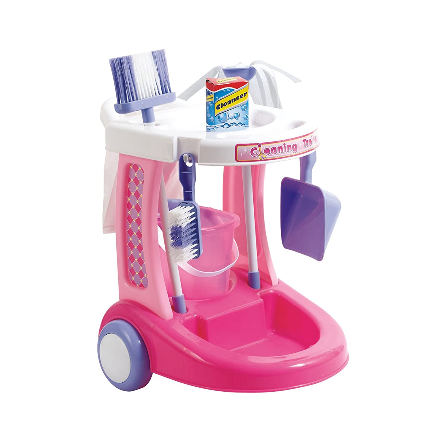 Amazon My Cleaning Trolley by Just Kidz Toys & Games