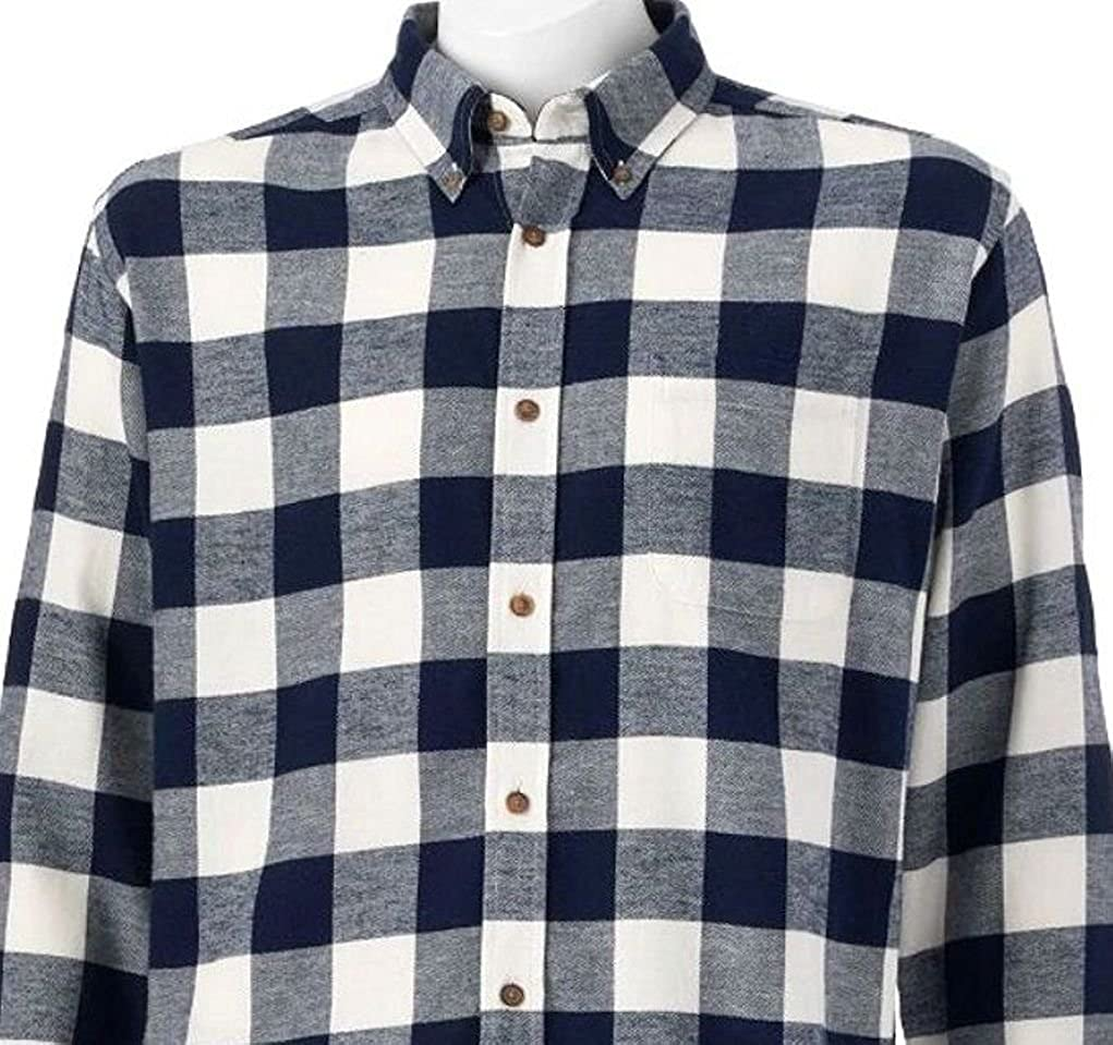 0794ca0c91 Croft   Barrow Classic Fit Flannel Shirts (Small) at Amazon Men s Clothing  store