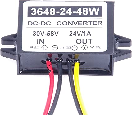 DC36V48V Step Down DC12V Power Supply Converter Module Waterproof 60A 720W New