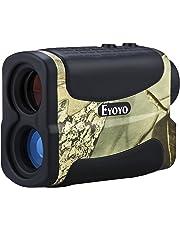 Eyoyo Wasserdicht 6X Multifunktions Golf Entfernungsmesser mit Ranging, Scannen, Flagpole Lock, Nebel und Speed-Funktion