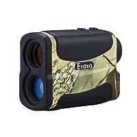 Eyoyo 5-700 Yard Waterproof 6x Multifunction Golf Hunting RangeFinder Distance Meter Speed Measurer with Ranging, Scan, Flagpole Lock, Fog and Speed function
